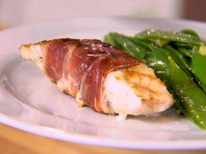 Paleo Sauteed Prosciutto-Wrapped Whitefish