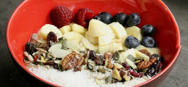 Banana Coconut Smoothie Bowl