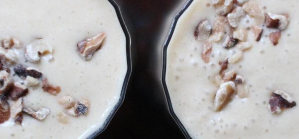 Banana Walnut Smoothie