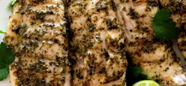 Grilled Lime Pompano