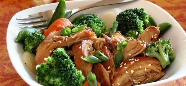 Paleo Slow Cooker Teriyaki Chicken