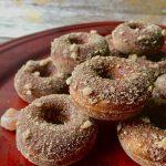 Paleo Gingerbread Mini Donuts