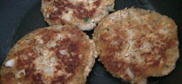 Paleo-ish Salmon Burgers